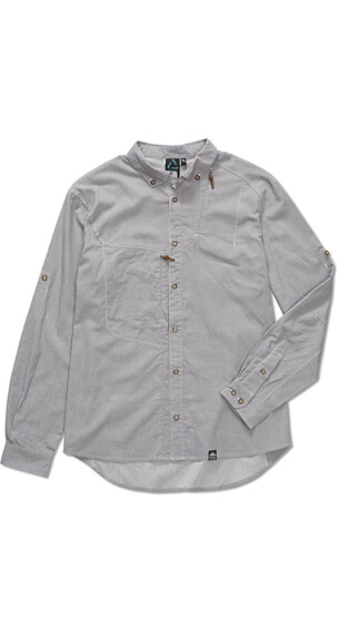 Klättermusen M's Lofn Shirt Grey Melange